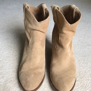 Frye Shoes - Low suede boots by Frye
